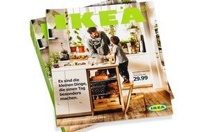 IKEA Deutschland GmbH & Co. KG: IKEA Katalog 2016 feiert das Leben rund um die Küche / Es sind die kleinen Dinge, die den Alltag besonders machen