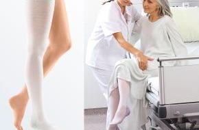 medi GmbH & Co. KG: Der Schutzengel im Krankenhaus heißt mediven® thrombexin® 18