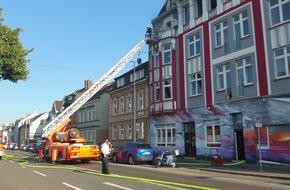 Feuerwehr Mülheim an der Ruhr: FW-MH: Zimmerbrand in der Duisburger Straße