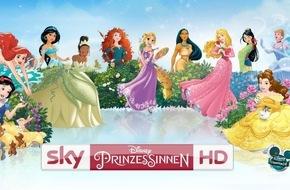 Sky Deutschland: Märchenhaftes Umfeld: Universal Music wirbt auf Sky Disney Prinzessinnen HD