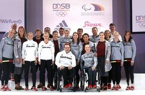 Deutscher Olympischer Sportbund (DOSB): Erfolgsanziehend: Bekleidung für Rio 2016 / Outfits von Adidas und Sioux für Olympische und Paralympische Spiele