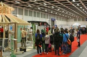 Messe Berlin GmbH: Bau Dir Deine Zukunft. Auf der bautec 2016 / KarriereCenter Bau bietet Schülern und Studierenden zahlreiche Aus- und Weiterbildungsmöglichkeiten bei kostenfreiem Eintritt