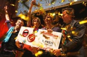 """Coca-Cola Schweiz GmbH: Oltener Band """"Rag Dolls"""" gewinnt den MyCokemusic Soundcheck 2012"""