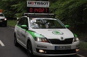 Skoda Auto Deutschland GmbH: SKODA macht als Fahrzeugpartner den Garmin Velothon Berlin 2014 mobil
