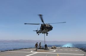 """Presse- und Informationszentrum Marine: Bordhubschrauber """"Sea Lynx"""" wieder im Einsatz"""