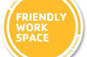 Manor AG: Manor erhält das Label Friendly Work Space® für ihr Engagement in der Gesundheitsförderung am Arbeitsplatz