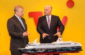 TUI AG: Prinz Andrew besucht TUI in Hannover / Ausbildungschancen im Fokus der Gespräche