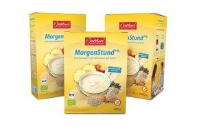 Jentschura International GmbH: MorgenStund' jetzt mit Bio-Siegel / P. Jentschura präsentiert preisgekrönten Frühstücksbrei in 100 % kontrollierter Bio-Qualität