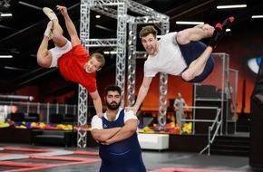 """SAT.1: Luke Mockridge macht Turn-Ass Fabian Hambüchen """"Fit für Olympia"""" in """"LUKE! Die Woche und ich"""""""