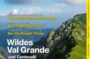 Wandermagazin SCHWEIZ: Wandermagazin Schweiz im Oktober/November, 10/11_2011: Wildes Val Grande und Centovalli