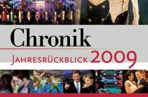 wissenmedia in der inmediaONE] GmbH: Chronik Jahresrückblick 2009 dokumentiert alle bewegenden Momente (mit Bild)