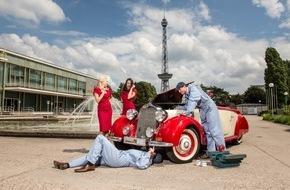 Messe Berlin GmbH: MOTORWORLD Classics Berlin: Markenzeichen: Im Stil der guten alten Zeiten / Neue Serie der plakativen Key Visuals zur Motorworld Classics Berlin 2016