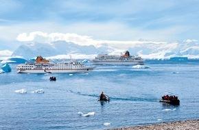 """Hapag-Lloyd Kreuzfahrten GmbH: Aktuelle Kampagne """"Mehr als Eis"""" von Hapag-Lloyd Kreuzfahrten: Neue Antarktiswebsite und Buchungswettbewerb für Reisebüros"""