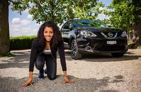 Nissan Switzerland: Schnellste Frau der Schweiz wird Nissan Botschafterin