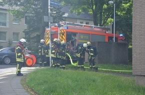 Feuerwehr Mülheim an der Ruhr: FW-MH: Wohnungsbrand mit verletzter Person