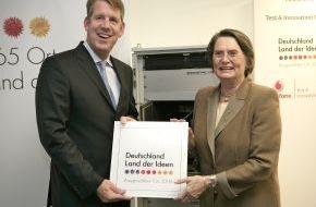 """Vodafone GmbH: Vodafone Test & Innovation Center erhält Auszeichnung als """"Ausgewählter Ort"""" im Land der Ideen"""