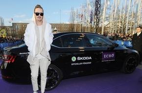 Skoda Auto Deutschland GmbH: SKODA brachte die Stars zur ECHO Jubiläumgsgala