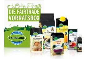 LIDL: Fairer Genuss frei Haus: Bei Lidl gibt es jetzt die Fairtrade-Vorratsbox / Ab dem 18. April 2016 können Kunden online und versandkostenfrei ein Paket mit Fairtrade-zertifizierten Produkten bestellen