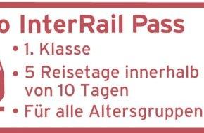 Tchibo GmbH: Bitte einsteigen in die 1. Klasse: Mit dem Tchibo InterRail-Pass quer durch Europa