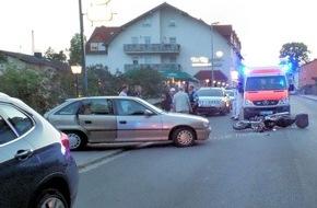 Polizeipräsidium Westpfalz: POL-PPWP: Hochspeyer (Kreis Kaiserslautern): 23 Meter Blockierspur