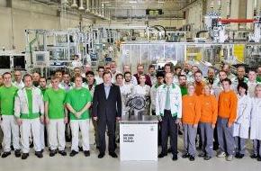 Skoda Auto Deutschland GmbH: SKODA Werk Vrchlabí: 500.000stes DQ 200-Getriebe