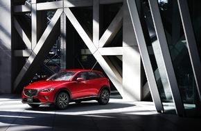 Mazda: Mazda CX-3 feiert Europadebüt