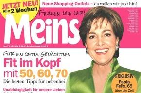 """Bauer Media Group, Meins: Paola Felix (65) in Meins: """"Positives Denken und Zufriedenheit sind besser als jedes Lifting"""""""