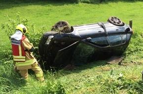 Feuerwehr Stolberg: FW-Stolberg: Schwerer Verkehrsunfall auf der Kurt-Schumacher-Straße (L 12) zwischen Vicht und Mausbach