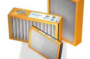 Melitta Zentralgesellschaft mbH & Co. KG: Swirl® cleanAir Filter für kontrollierte Wohnraumlüftung / Einfach, sauber und Energie sparend - das neue Filtersortiment von Swirl®