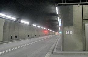 Touring Club Schweiz/Suisse/Svizzero - TCS: Europäischer Tunneltest 2015: Gotthardtunnel am Schluss der Rangliste