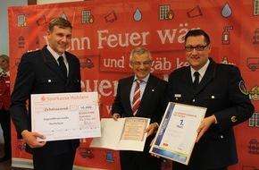 Landesfeuerwehrverband Schleswig-Holstein: FW-LFVSH: EUR 10.000 für die Jugendfeuerwehr Nettelsee