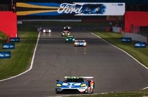 Ford-Werke GmbH: Ford Chip Ganassi Racing startet mit ermutigenden Rängen vier und fünf in die Langstrecken-WM-Saison