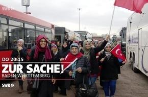 """Fahrverbot für Dieselautos in Stuttgart / Wahlkampf für Erdogan in """"Zur Sache Baden-Württemberg"""", Donnerstag, 2. März 2017, 20.15 bis 21 Uhr, SWR Fernsehen in Baden-Württemberg"""