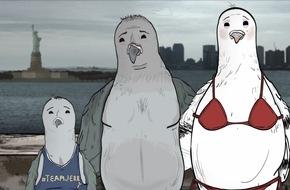 """Sky Deutschland: Sky On Demand präsentiert die Indie-Trickserie """"Animals"""""""