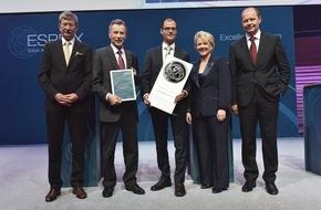 Stiftung ESPRIX: Schweizerische Post gewinnt den ESPRIX Swiss Award for Excellence 2015