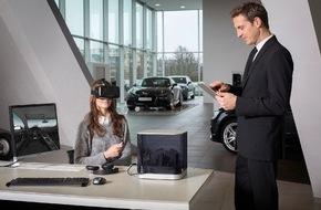 Audi AG: Audi VR experience: das Autohaus im Aktenkoffer
