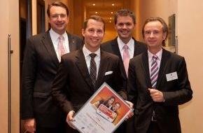 AHGZ: AHGZ: Philip Borckenstein von Quirini gewinnt den Deutschen Hotelnachwuchs-Preis