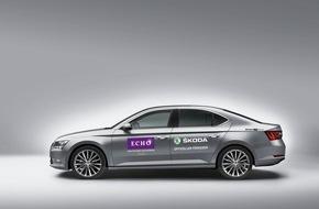 Skoda Auto Deutschland GmbH: SKODA chauffiert die VIPs zum ECHO 2016
