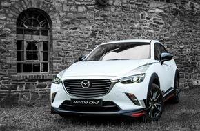 Mazda: Sportliches und individuelles Zubehör für den Mazda CX-3