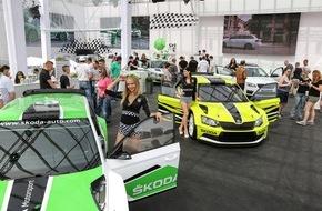 Skoda Auto Deutschland GmbH: Sportlich, sportlich: Fünf SKODA Kracher auf dem GTI-Treffen am Wörthersee