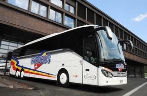 Eurobus-Gruppe: Eurobus: Tägliche Expo-Verbindung erfolgreich gestartet