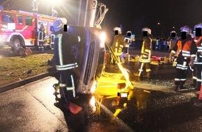 Polizei Düren: POL-DN: Alkohol und Auto fahren vertragen sich nicht