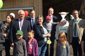 Deutscher Bauernverband (DBV): Bundesweites Angebot zum Dialog mit der Landwirtschaft - Über 600 Höfe beteiligen sich am Tag des offenen Hofes 2016