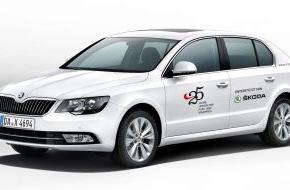 Skoda Auto Deutschland GmbH: SKODA fährt die VIPs zum Hessischen Film- und Kinopreis