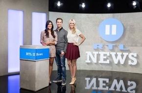 """RTL II: Jung, authentisch, näher dran: """"RTL II News"""" mit neuem Studio, Design und Konzept"""