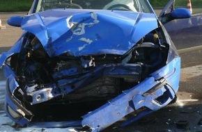 Polizei Düren: POL-DN: Fahranfänger verursacht Verkehrsunfall mit vier Verletzten