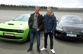 "RTL II: ""GRIP - Das Motormagazin"": Oldschool Muscle Car im Duell mit Hightech-Newcomer"
