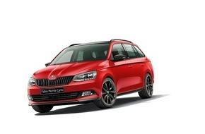 Skoda Auto Deutschland GmbH: Start frei für besonders sportlich gestylten SKODA Fabia Monte Carlo