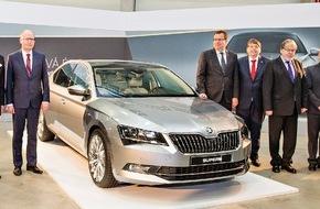 Skoda Auto Deutschland GmbH: SKODA erweitert Standort Kvasiny; tschechische Regierung investiert in Infrastruktur der Region