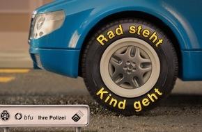 Touring Club Schweiz/Suisse/Svizzero - TCS: Rad steht, Kind geht!
